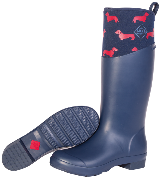 TREMONT WELLIE blau/rot