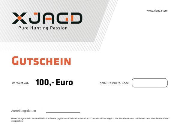 100 EURO GUTSCHEIN X JAGD