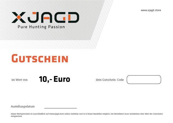 10 EURO GUTSCHEIN X JAGD