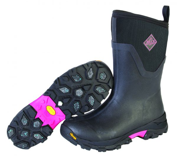 ARCTIC ICE MID black / hot pink
