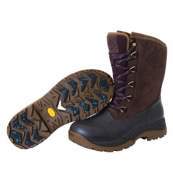 ARCTIC OUTPOST LACE MID AG brown / black